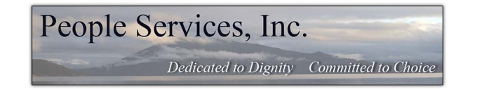 The Carpet Man in Lakeport, CA proudly supports People Services, Inc.